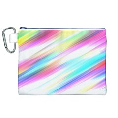 Background Course Abstract Pattern Canvas Cosmetic Bag (xl)