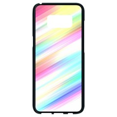 Background Course Abstract Pattern Samsung Galaxy S8 Black Seamless Case