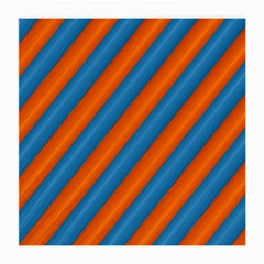 Diagonal Stripes Striped Lines Medium Glasses Cloth
