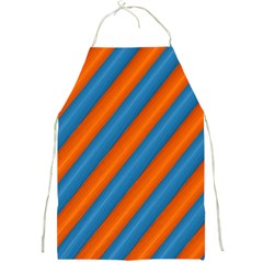 Diagonal Stripes Striped Lines Full Print Aprons