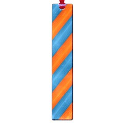 Diagonal Stripes Striped Lines Large Book Marks