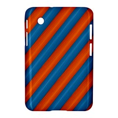 Diagonal Stripes Striped Lines Samsung Galaxy Tab 2 (7 ) P3100 Hardshell Case