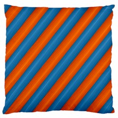 Diagonal Stripes Striped Lines Standard Flano Cushion Case (two Sides)