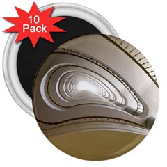 Staircase Berlin Architecture 3  Magnets (10 Pack)