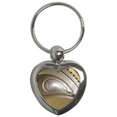 Staircase Berlin Architecture Key Chains (heart)