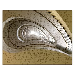 Staircase Berlin Architecture Rectangular Jigsaw Puzzl