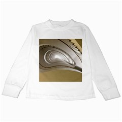 Staircase Berlin Architecture Kids Long Sleeve T Shirts