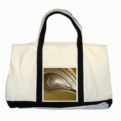 Staircase Berlin Architecture Two Tone Tote Bag