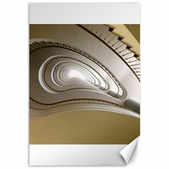 Staircase Berlin Architecture Canvas 12  X 18