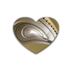 Staircase Berlin Architecture Heart Coaster (4 Pack)