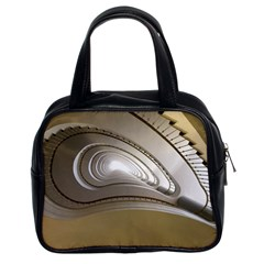 Staircase Berlin Architecture Classic Handbags (2 Sides)