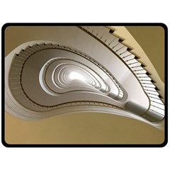 Staircase Berlin Architecture Fleece Blanket (large)