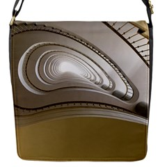 Staircase Berlin Architecture Flap Messenger Bag (s)