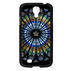 Rose Window Strasbourg Cathedral Samsung Galaxy S4 I9500/ I9505 Case (black)