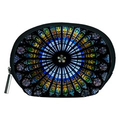Rose Window Strasbourg Cathedral Accessory Pouches (medium)
