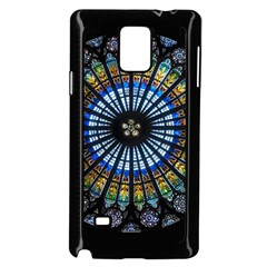 Rose Window Strasbourg Cathedral Samsung Galaxy Note 4 Case (black)
