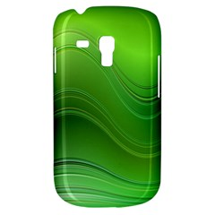 Green Wave Background Abstract Galaxy S3 Mini