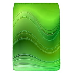 Green Wave Background Abstract Flap Covers (l)