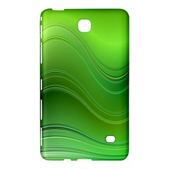 Green Wave Background Abstract Samsung Galaxy Tab 4 (8 ) Hardshell Case