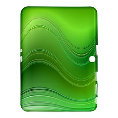 Green Wave Background Abstract Samsung Galaxy Tab 4 (10 1 ) Hardshell Case