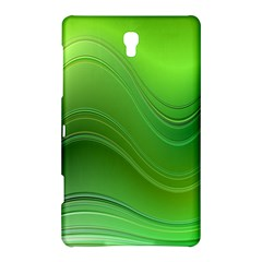 Green Wave Background Abstract Samsung Galaxy Tab S (8 4 ) Hardshell Case
