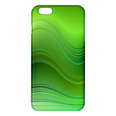 Green Wave Background Abstract Iphone 6 Plus/6s Plus Tpu Case