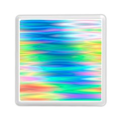 Wave Rainbow Bright Texture Memory Card Reader (square)