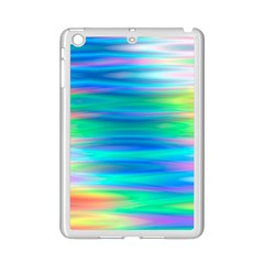 Wave Rainbow Bright Texture Ipad Mini 2 Enamel Coated Cases