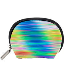 Wave Rainbow Bright Texture Accessory Pouches (small)