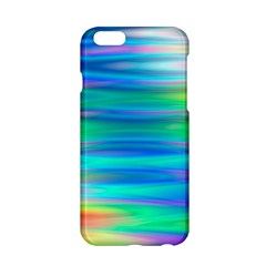 Wave Rainbow Bright Texture Apple Iphone 6/6s Hardshell Case