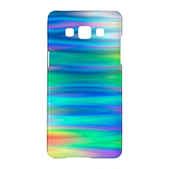 Wave Rainbow Bright Texture Samsung Galaxy A5 Hardshell Case