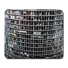 Skyscraper Glass Facade Offices Large Mousepads