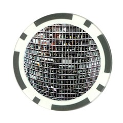 Skyscraper Glass Facade Offices Poker Chip Card Guard (10 Pack)