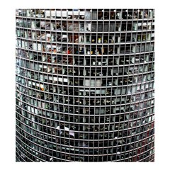 Skyscraper Glass Facade Offices Shower Curtain 66  X 72  (large)