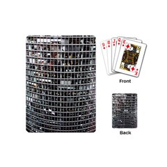 Skyscraper Glass Facade Offices Playing Cards (mini)