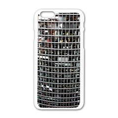Skyscraper Glass Facade Offices Apple Iphone 6/6s White Enamel Case