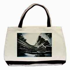 Architecture Modern Skyscraper Basic Tote Bag (two Sides)