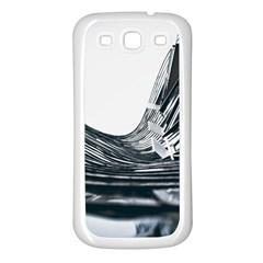Architecture Modern Skyscraper Samsung Galaxy S3 Back Case (white)