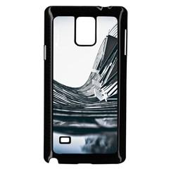 Architecture Modern Skyscraper Samsung Galaxy Note 4 Case (black)