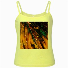 Abstract Wallpaper Images Yellow Spaghetti Tank