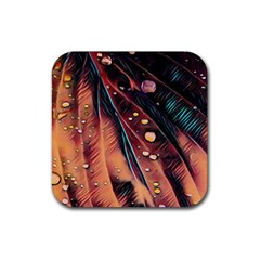 Abstract Wallpaper Images Rubber Coaster (square)