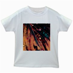 Abstract Wallpaper Images Kids White T Shirts
