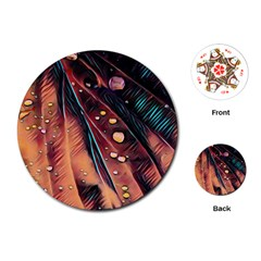 Abstract Wallpaper Images Playing Cards (round)