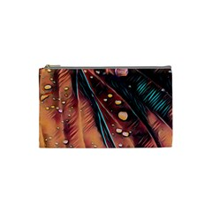Abstract Wallpaper Images Cosmetic Bag (small)
