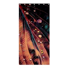 Abstract Wallpaper Images Shower Curtain 36  X 72  (stall)