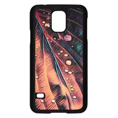Abstract Wallpaper Images Samsung Galaxy S5 Case (black)