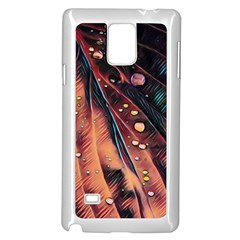 Abstract Wallpaper Images Samsung Galaxy Note 4 Case (white)