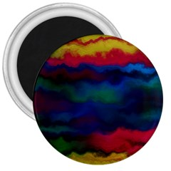Watercolour Color Background 3  Magnets