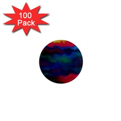 Watercolour Color Background 1  Mini Magnets (100 Pack)