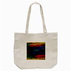 Watercolour Color Background Tote Bag (cream)